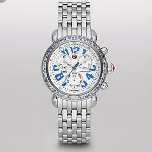 Blue Sapphire Michele Watch